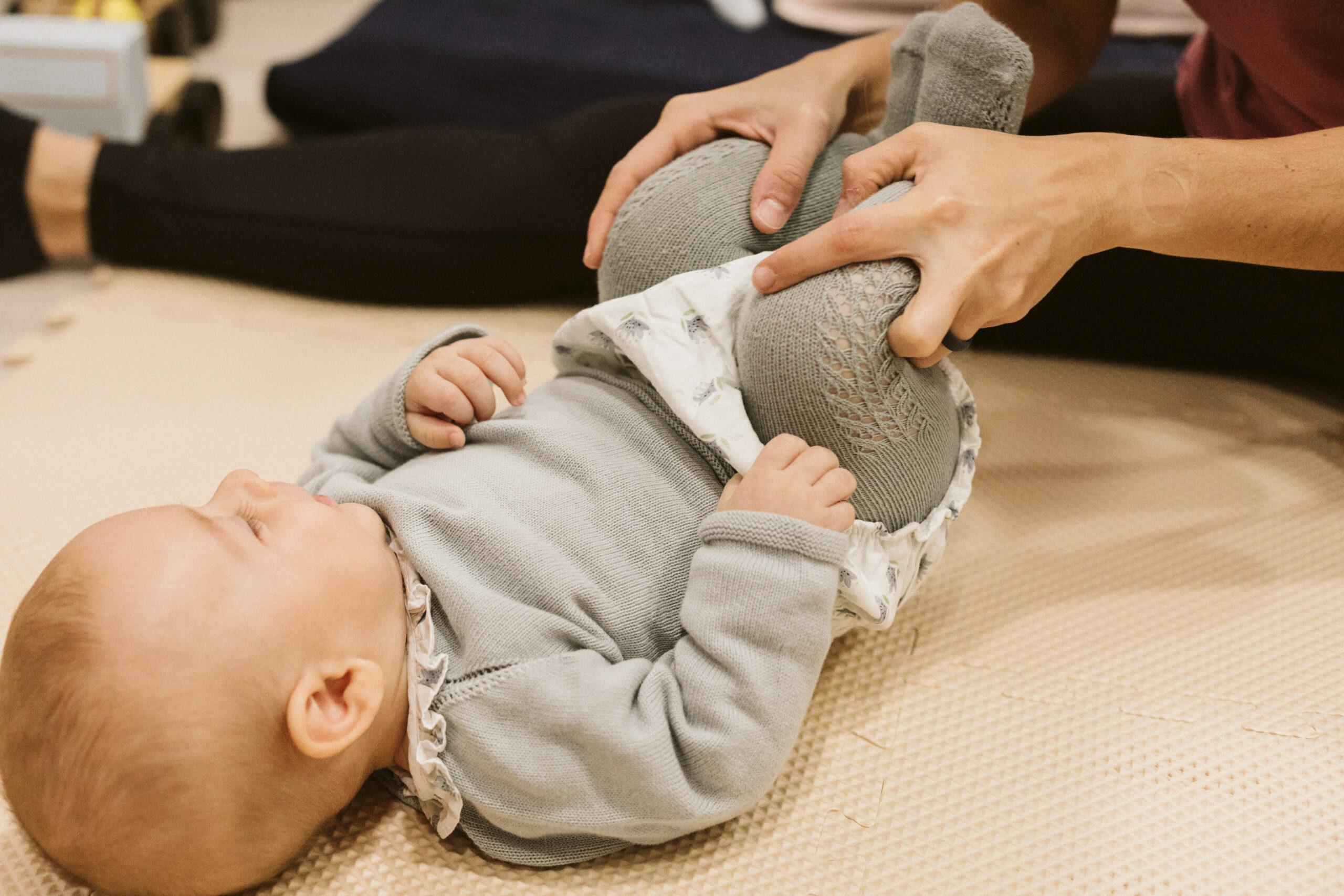 fisioterapia infanti